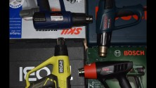 Какой лучше выбрать строительный фен?