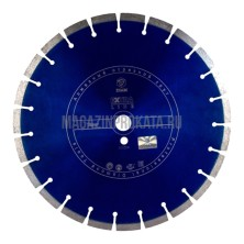 DIAM Ф400x25.4мм Tiger Extra Line 3.4x12 мм. Круг алмазный DIAM Ф400x25.4мм Tiger Extra Line 3.4x12 мм