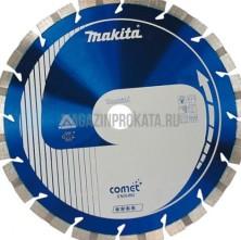 MAKITA ( B-13596 ) 400х25.4\20мм. Диск алмазный сегментный Comet Rapide, размер 400х25.4\20мм, для твердых материалов, технология Stealth, MAKITA ( B-13596 )