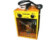 Аренда и прокат электрического тепловентилятора (тепловой пушки) Master B 3.3 EPB (1.65-3.3 КвТ)
