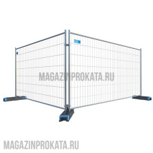 прокат и аренда строительных ограждений Евро-2 (BETAFEССE) :: Магазин Проката - аренда строительного оборудования и инструмента
