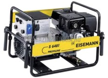 Аренда и прокат бензинового сварочного генератора Eiseman S 6401 (6 кВт, электродов до 4 мм)