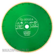 SOLGA DIAMANT CERAMICS 350X25,4 ММ. Диск Алмазный SOLGA DIAMANT CERAMICS, MARBLE  сплошной (керамика, мрамор) 350X25,4 ММ