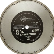 "Trio-Diamond"" Segment Лазер Бетон 400х10х25,4. Круг алмазный ""Trio-Diamond"" Segment Лазер Бетон 400х10х25,4 мм"