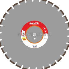 Алмазный диск ЖБ_30 / 500 мм / 30 сегм. / 40 х 5,0 х 12 Адель