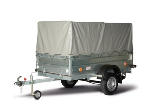 Автомобильный прицеп (внутренние размеры кузова 2.37 × 1.14 × 1.0 м). Главное фото.