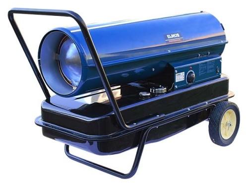 Дизельная тепловая пушка Elmos DH 51 (40 кВт) прямого горения. Главное фото.