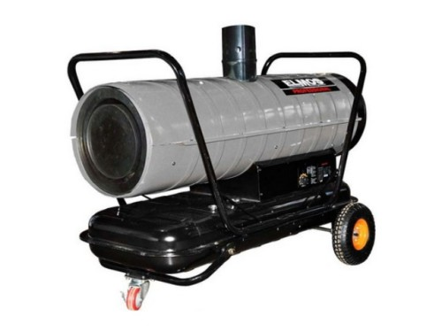 Дизельная тепловая пушка с отводом выхлопных газов Elmos DH 253 (26 кВт). Главное фото.
