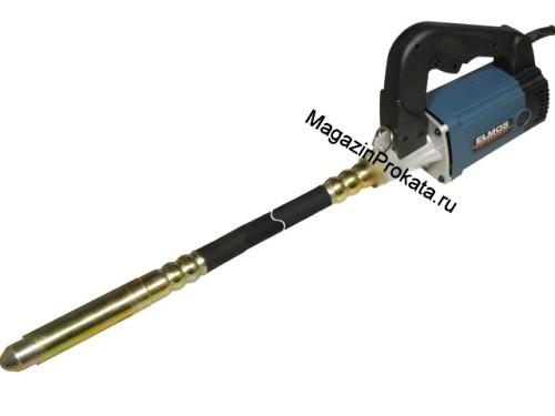 Глубинный вибратор для бетона Elmos EVR-15 (Ø 38мм, виброшланг 1.8м). Главное фото.