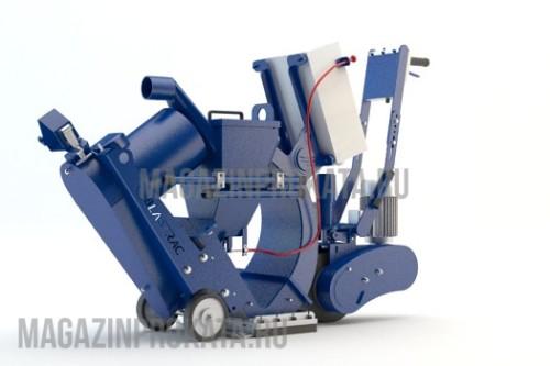 Дробеструйная машина Blastrac 1-10DPS75. Главное фото.