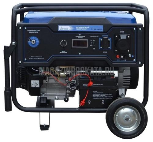 Бензиновый генератор ТСС SGG 5000EHNA (5000 Вт). Главное фото.