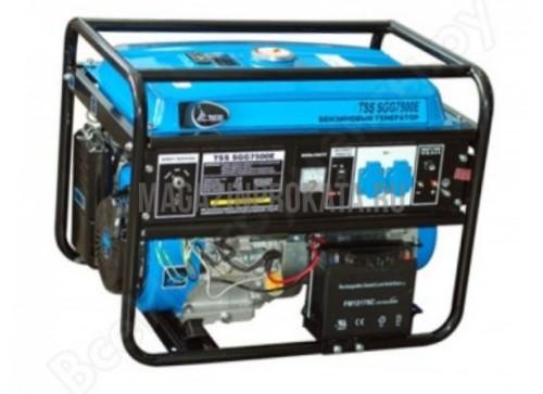 Бензиновый генератор TSS SGG-7500 (5 кВт). Главное фото.