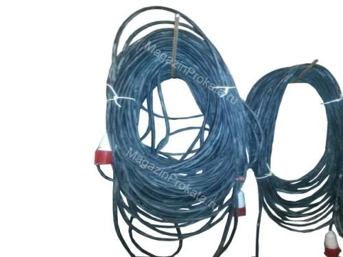 Аренда и прокат кабеля удлинителя электрического 70 метров. Главное фото.