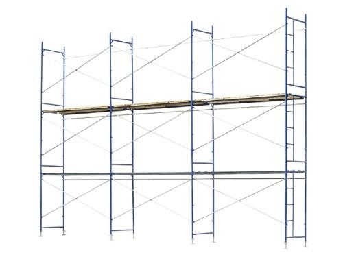Аренда и прокат строительных рамных лесов ЛРСП 40. Главное фото.