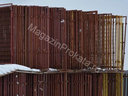 Аренда и прокат металлических ограждений ИСО-2 (1,6 - 2 метра). Главное фото.
