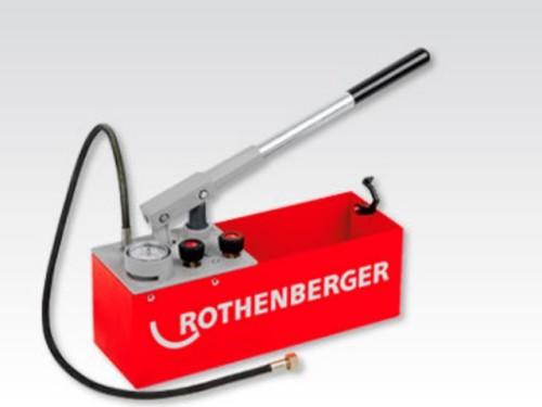 Ручной опрессовочный насос Rothenberger RP 50S. Главное фото.