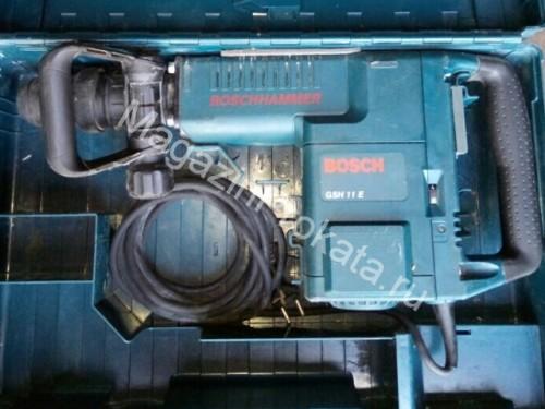 Отбойный молоток Bosch GSH 11 E (сила удара 25 Джоулей). Главное фото.