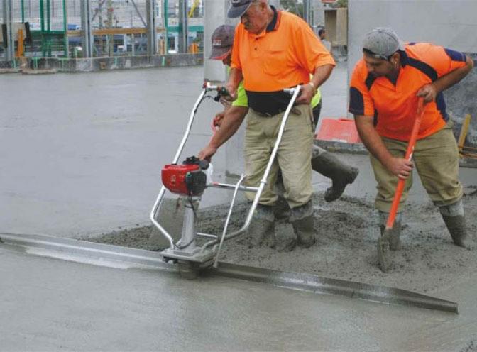 Заливка бетона виброрейкой тощий бетон балашиха